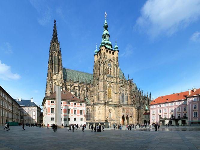كاتدرائية سانت فيتوس في براغ