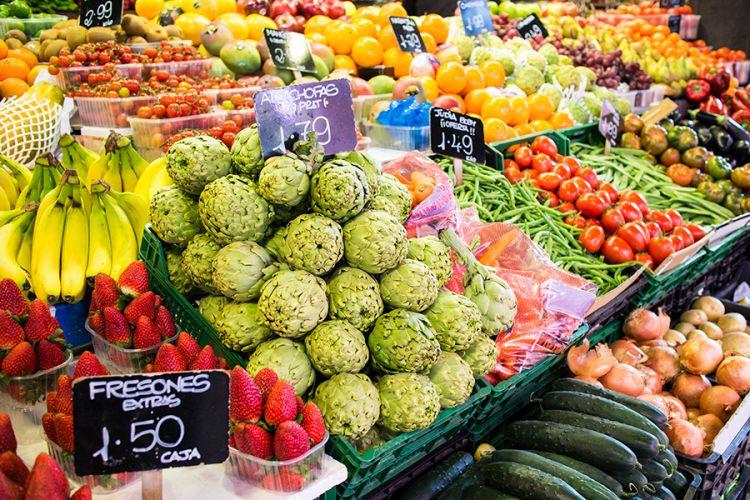 سوق لابوكيريا في برشلونة