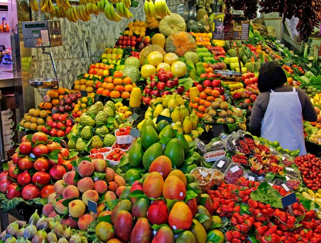 سوق لابوكيريا - Boqueria - برشلونة