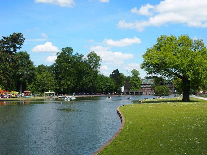 كانون هيل بارك - Cannon Hill Park
