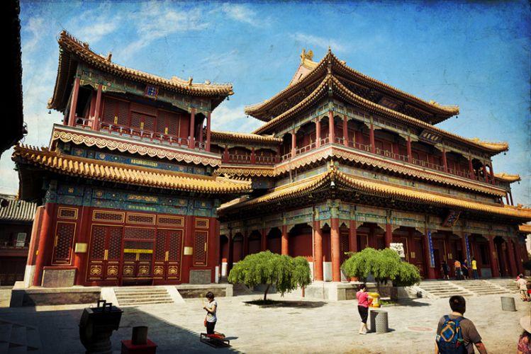 معبد لاما في بكين الصين