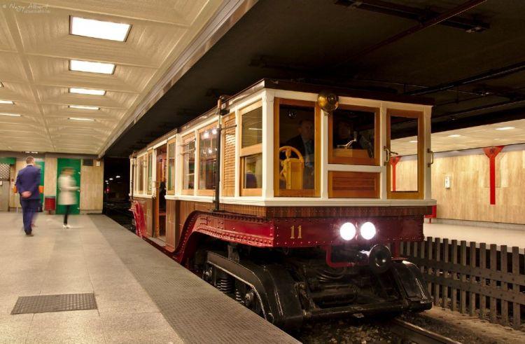 متحف قطارات تحت الارض