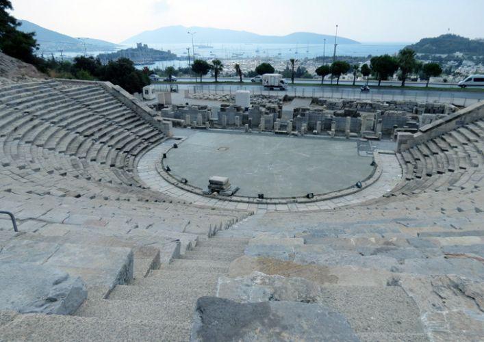 مسرح المدرج الروماني في بودروم