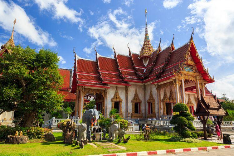 معبد وات تشالونج - Wat Chalong Temple - تايلاند