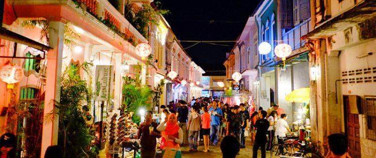 البلدة القديمة في بوكيت - تايلاند