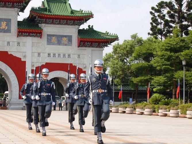 ضريح الشهيدفي تايوان