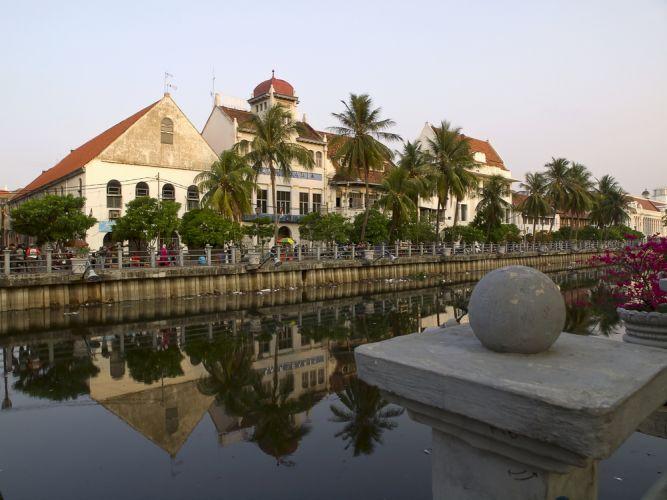 باتافيا القديمة في جاكرتا - إندونيسيا