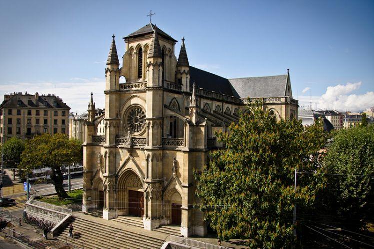 كاتدرائية نوتردام - Notre Dame Basilica في جنيف