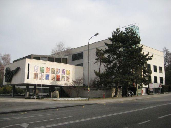 متحف التاريخ الطبيعي من الخارج