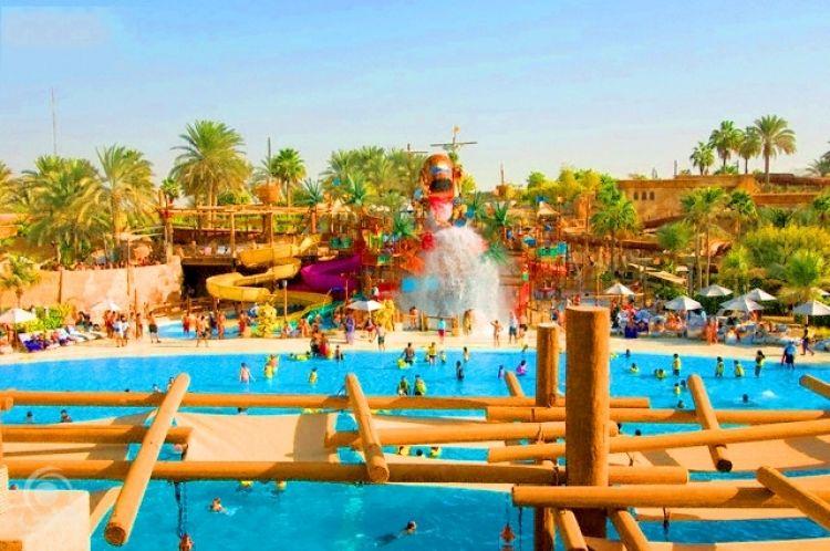 الألعاب المائية وندر لاند دبي
