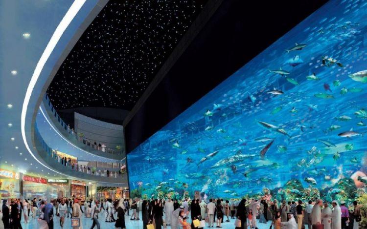 المركز التجاري دبي مول
