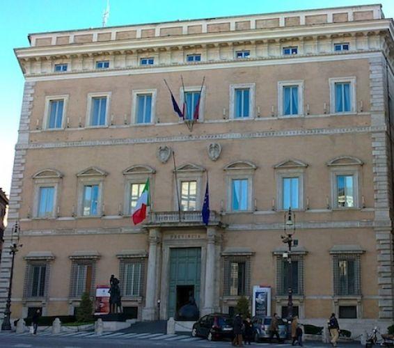 قصر فالينتي في روما - إيطاليا