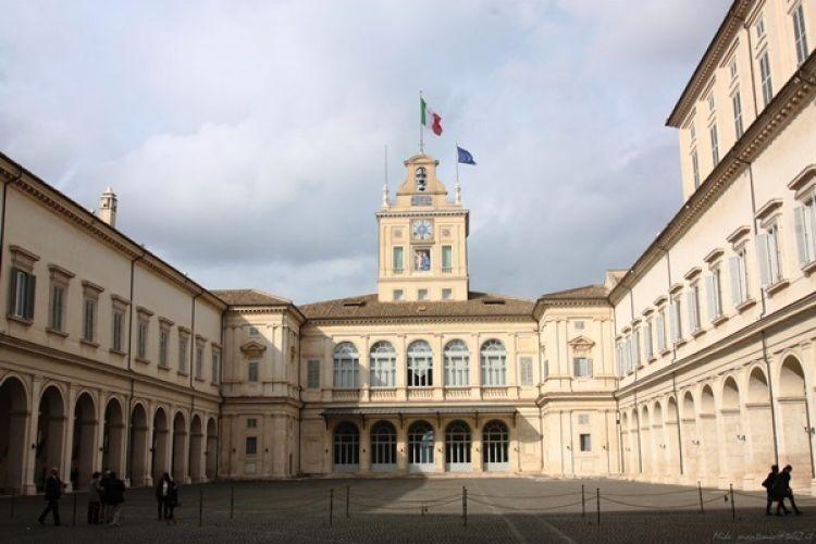قصر كويرينالي في روما - إيطاليا