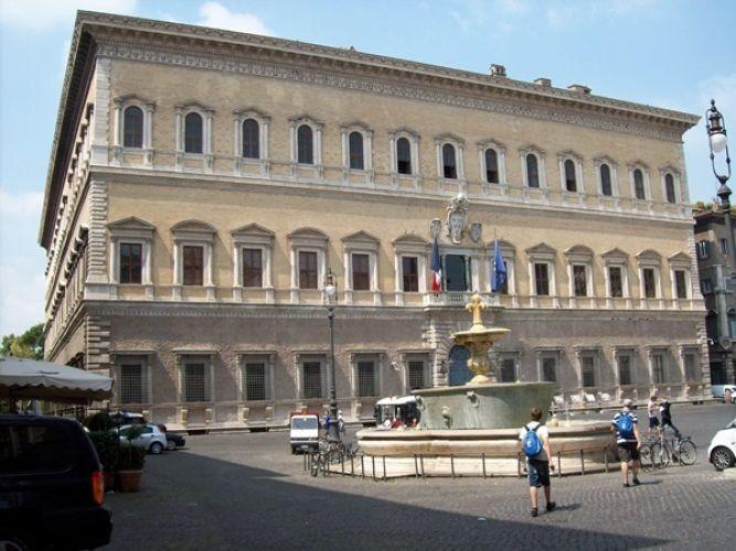 قصر فارنيزي في روما
