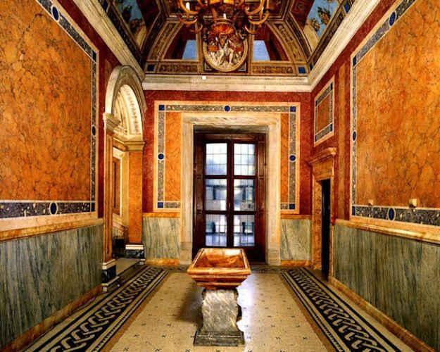 فيلا فارنيسينا من الداخل في روما - إيطاليا
