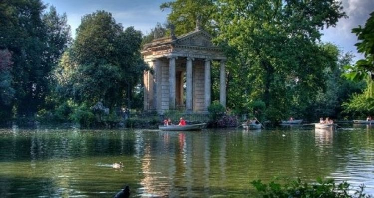 حدائق فيلا بورغيزي