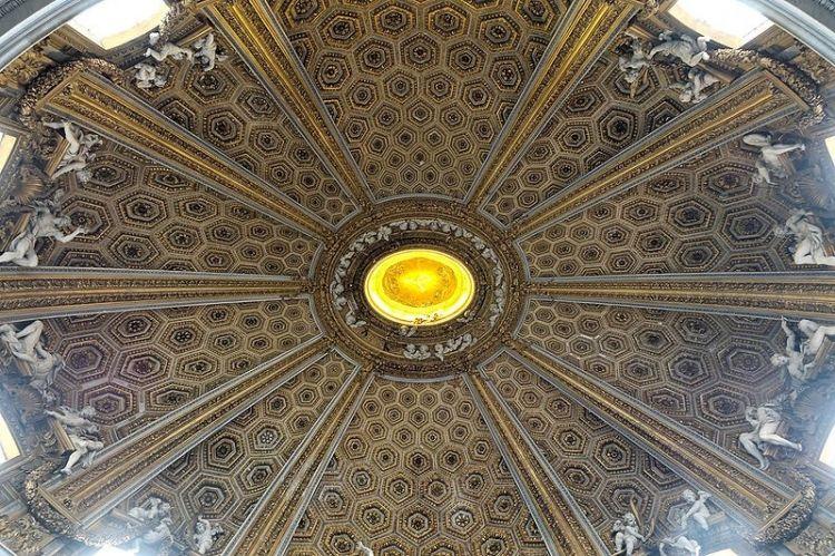 سقف كنيسة سانتا أندريا