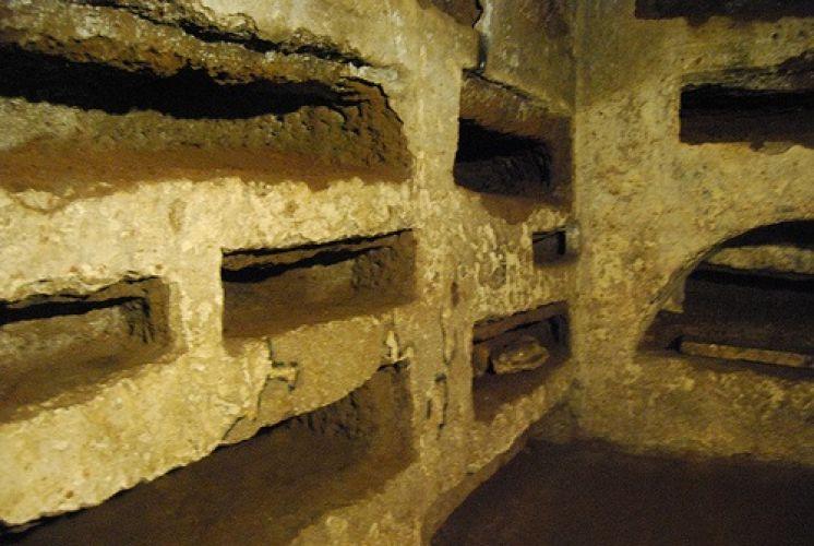 مقبرة كاليكستوس في روما - إيطاليا
