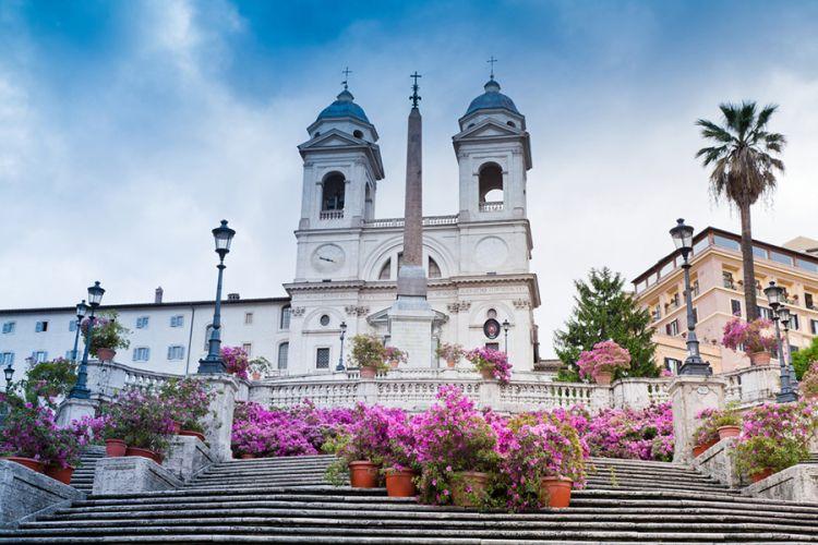 السلالم الإسبانية في روما