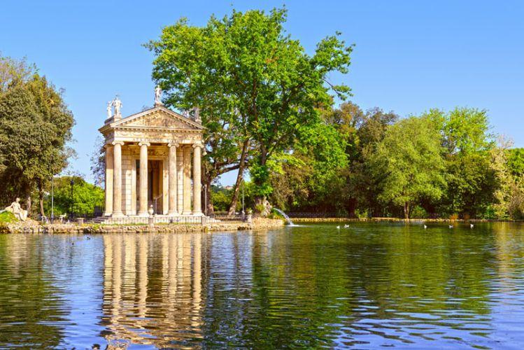 حدائق فيلا بورغيزي في روما