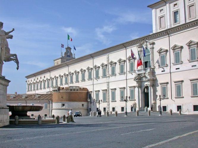 قصر كويرينالي في روما