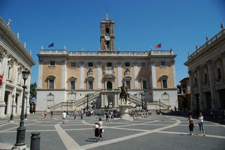 هضبة كابيتولين في روما - ايطاليا