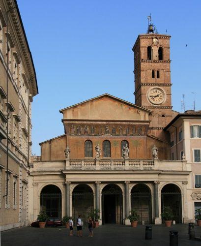 كنيسة سانت ماريا في روما - إيطاليا