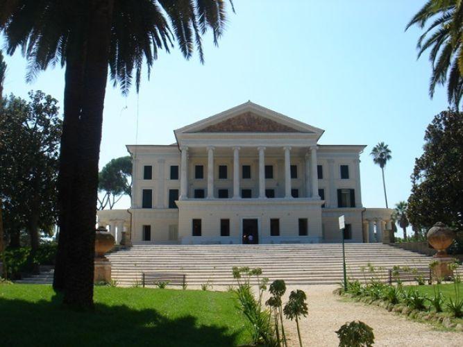 متحف فيلا تورلونيا في روما