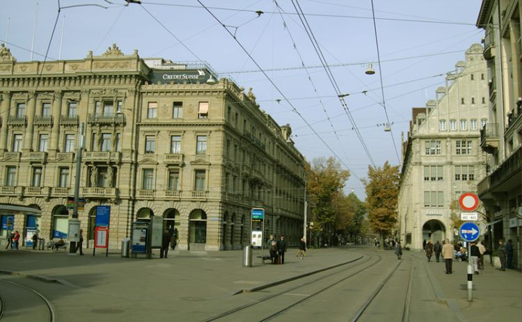 باهنهوفستراسي - Bahnhofstrasse في زيورخ