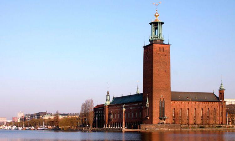 مبنى البلدية - Stadshuset في ستوكهولم