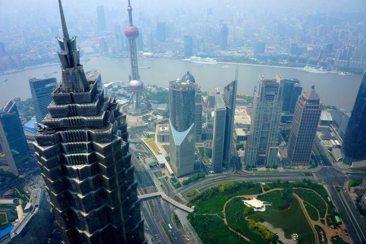 برج شين ماو في شنغهاي - الصين