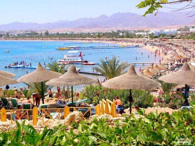 منطقة ساحلية بخليج نعمة شرم الشيخ - مصر