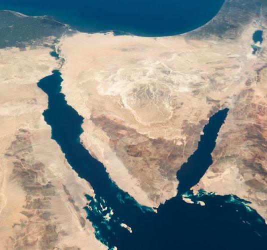 خريطة جزيرة تيران في شرم الشيخ - مصر