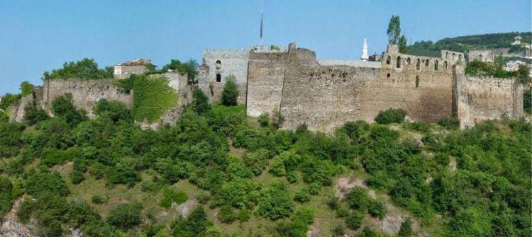 اهم جزء من القلعة هو برج زاغنوس