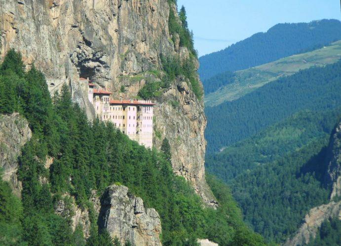 قلعة اورتاهيراز هي اقدم مكان بطرابزون