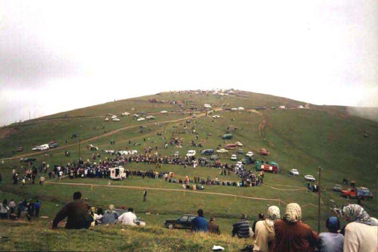 مرتفعات السلطان مراد تقع غربي مدينة طرابزون - تركيا