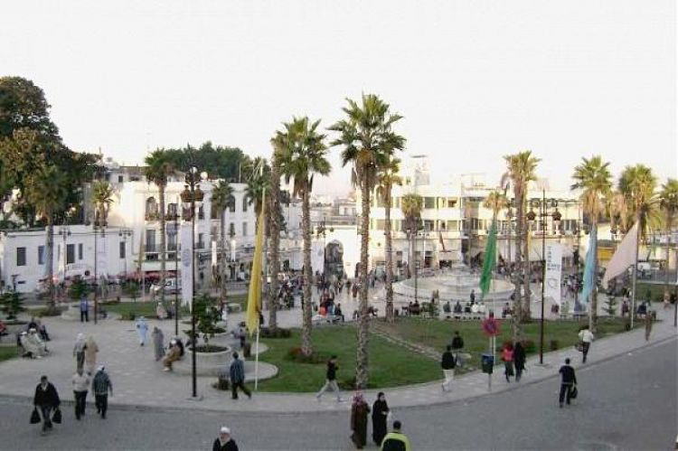 السوق الكبير في طنجة