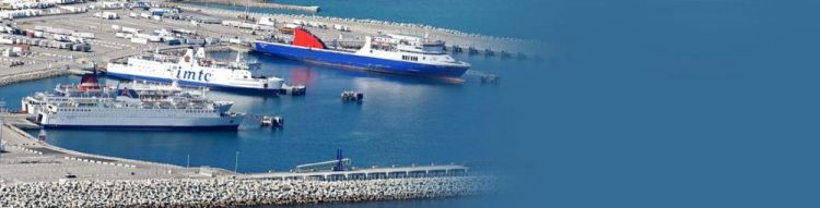 ميناء الحاويات الجديد في طنجة - المغرب
