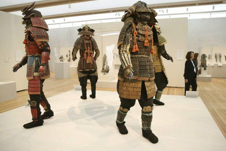 من داخل متحف الساموراي في طوكيو