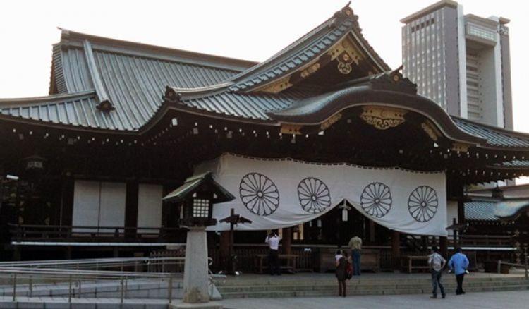 ضريح ياسوكوني - Yasukuni Shrine في طوكيو - اليابان