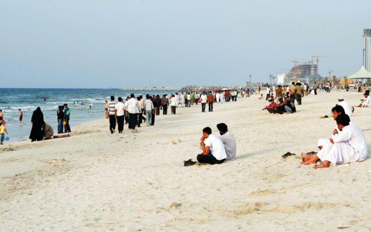 الشواطئ في إمارة عجمان
