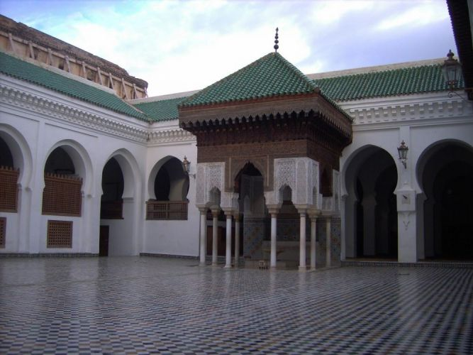 مسجد الاندلسيين في فاس