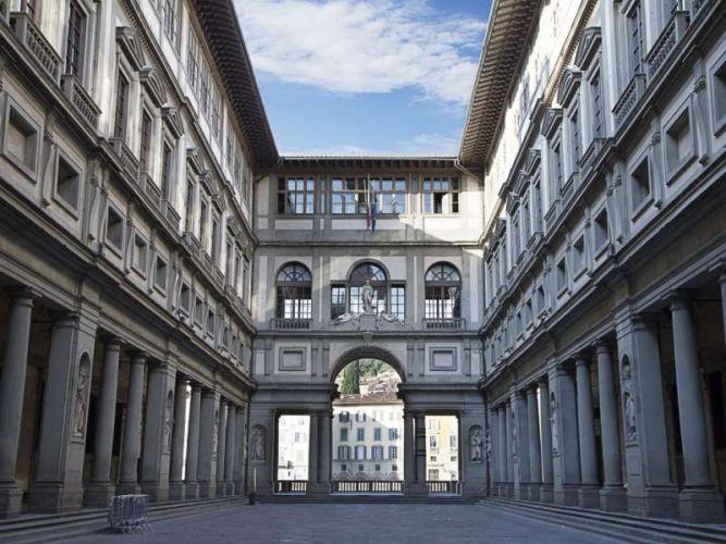 معرض اوفيزي في فلورنسا