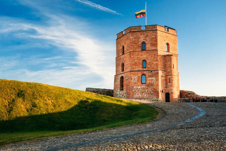 برج غيديميناس في ليتوانيا