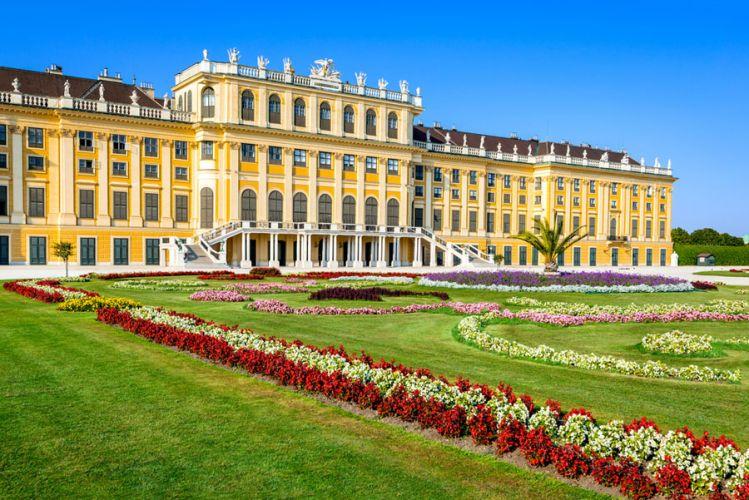 Schonbrunn in Vienna