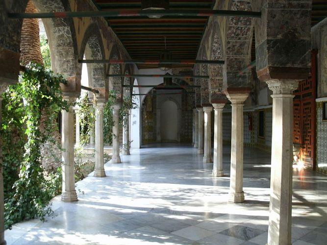 بهو بقصر الباي في قسنطينة