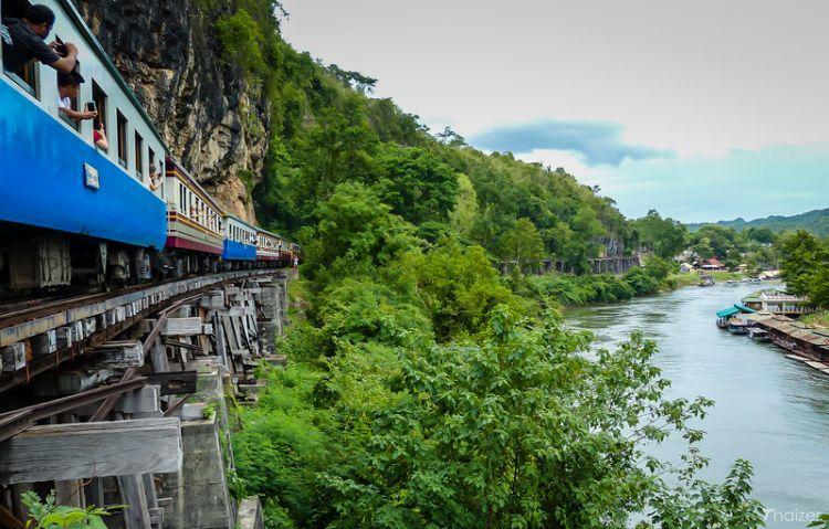 سكك الموت الحديدية في كانشانابوري - تايلاند