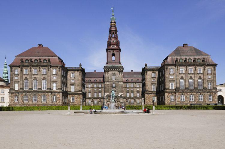 قصر كريستانسبورج في كوبنهاجن