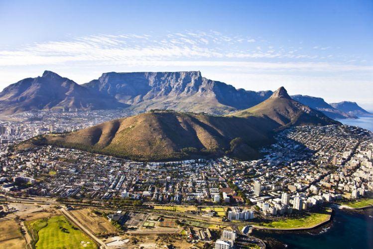 جبل الطاولة في جنوب افريقيا