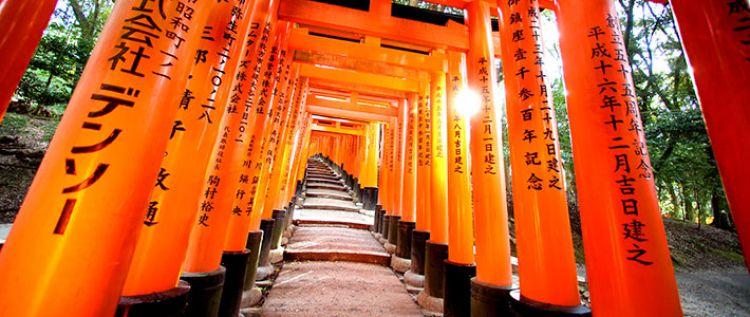 فوشيمي إناري في كيوتو - اليابان